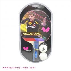 Timo Boll 2000 with 2 Balls